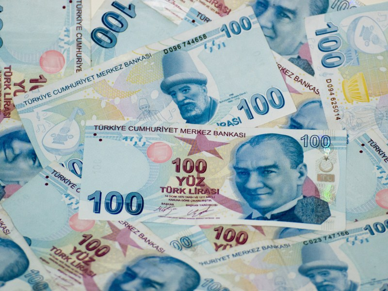 Turkish banknotes. Photo: iStock