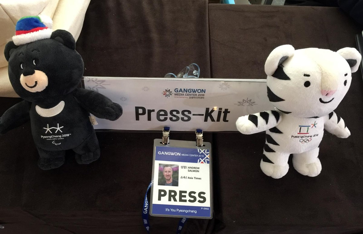 Asia Times Northeast Asia correspondent Andrew Salmon's Press Kit and credentials.