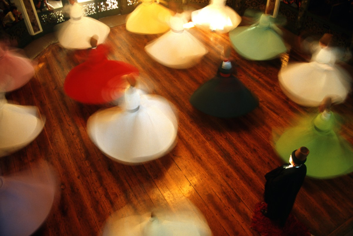 Whirling dervishes. Photo: iStock