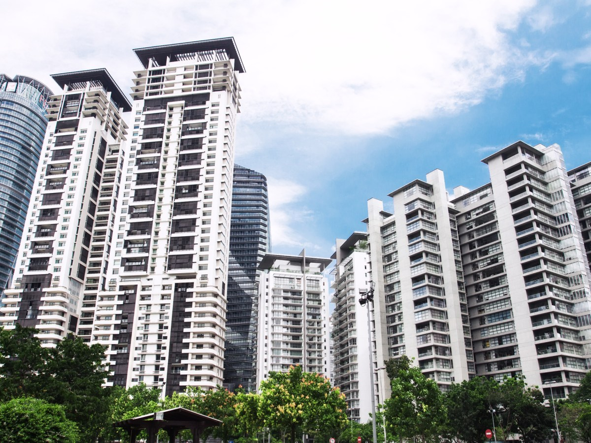 New high-rise apartment in China. Photo: iStock
