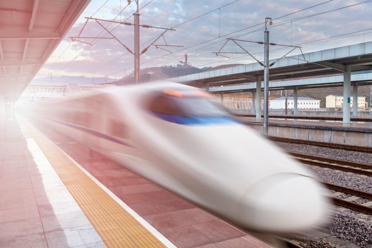 Chinese high-speed rail. Photo: iStock