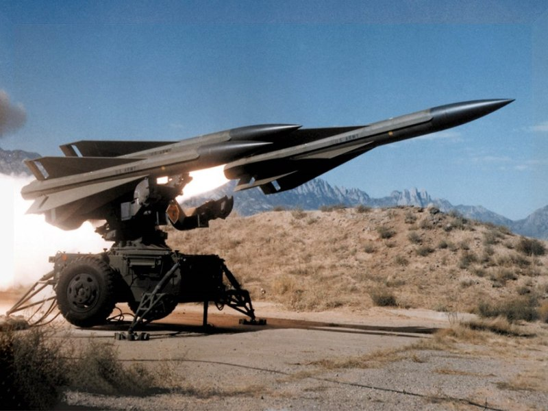 A MIM-23 Hawk missile being fired. Photo: WikiMedia