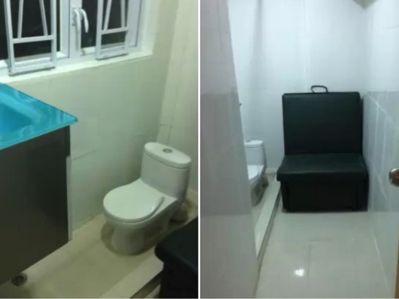 A subdivided flat in  Mong Kok. Photo: rent.591.com.hk