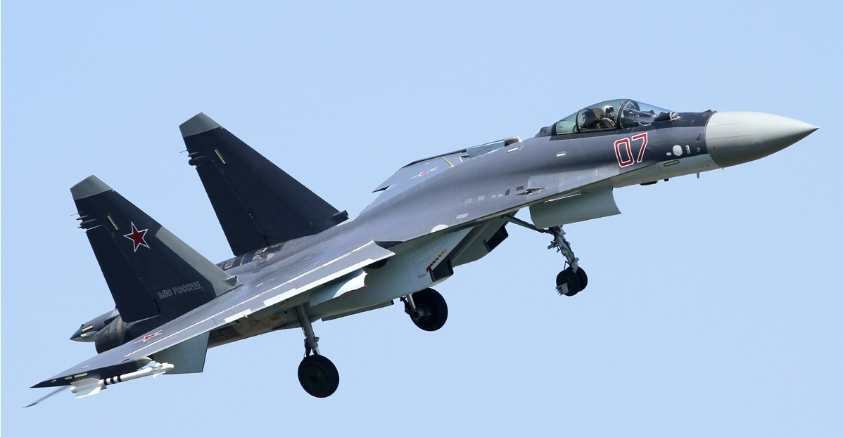 Soon more Sukhoi Su-35s will be seen along with J-20s above the South China Sea. Photo: WikiMedia
