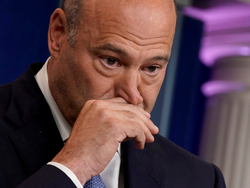 White House chief economic adviser Gary Cohn speaks during a press briefing at the White House in September. Photo: Reuters/Yuri Gripas
