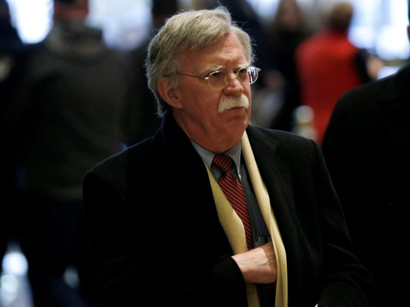John Bolton, US President Donald Trump's pick to be his next national security adviser. Photo: Reuters/Mike Segar