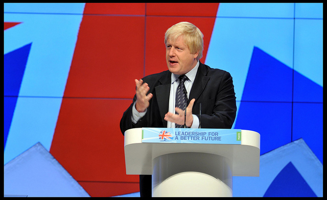 UK Foreign Secretary Boris Johnson. Photo: Flickr Commons