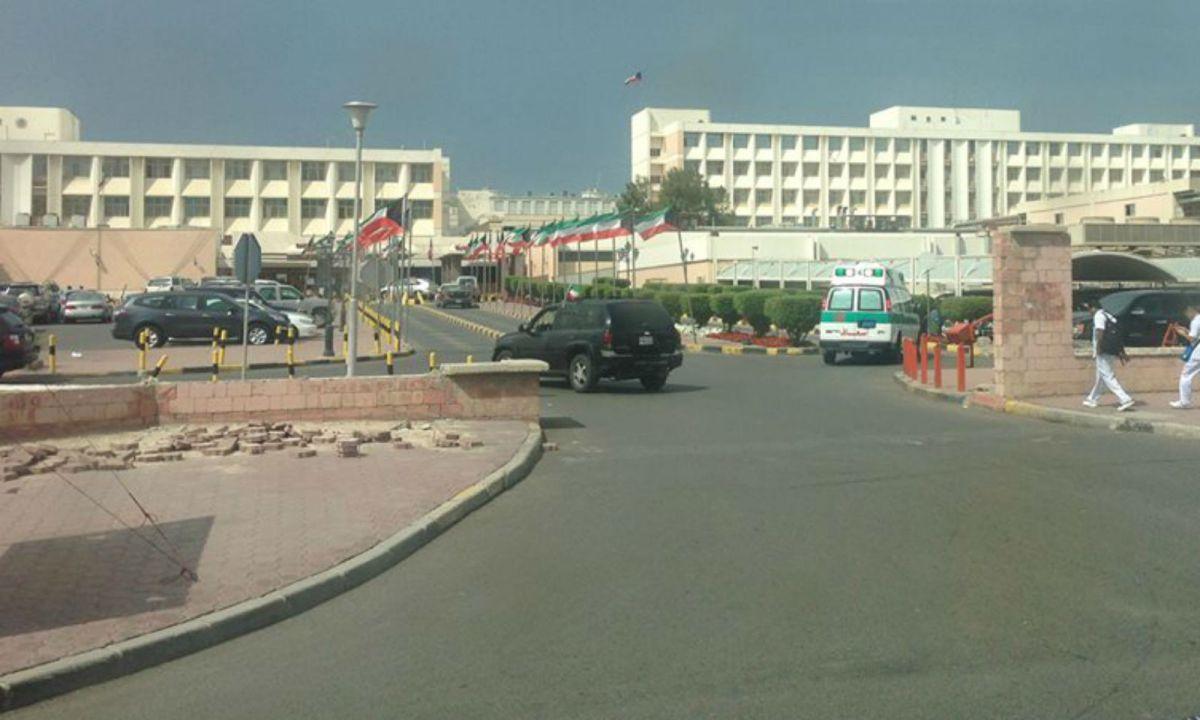 Mubarak Al-Kabir Hospital. Photo: Facebook, Mubarak Al-Kabir Hospital