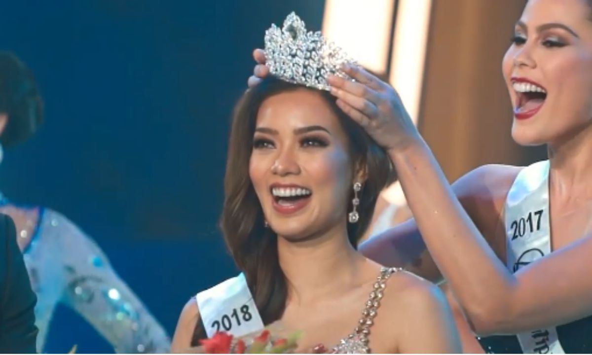 Jehza Huelar is crowned as Binibining Pilipinas-Supranational 2018. Photo: Facebook, Binibining Pilipinas