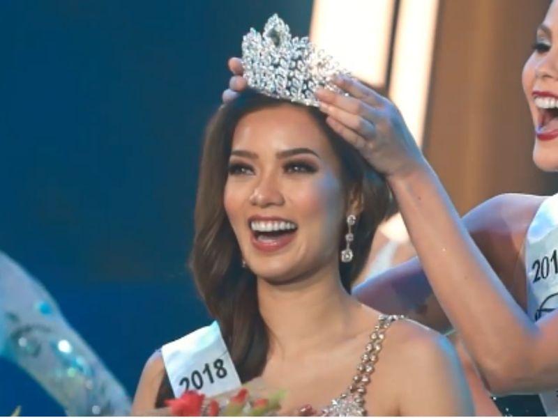 Jehza Huelar is crowned as Binibining Pilipinas-Supranational 2018. Photo: Facebook, Binibining Pilipinas