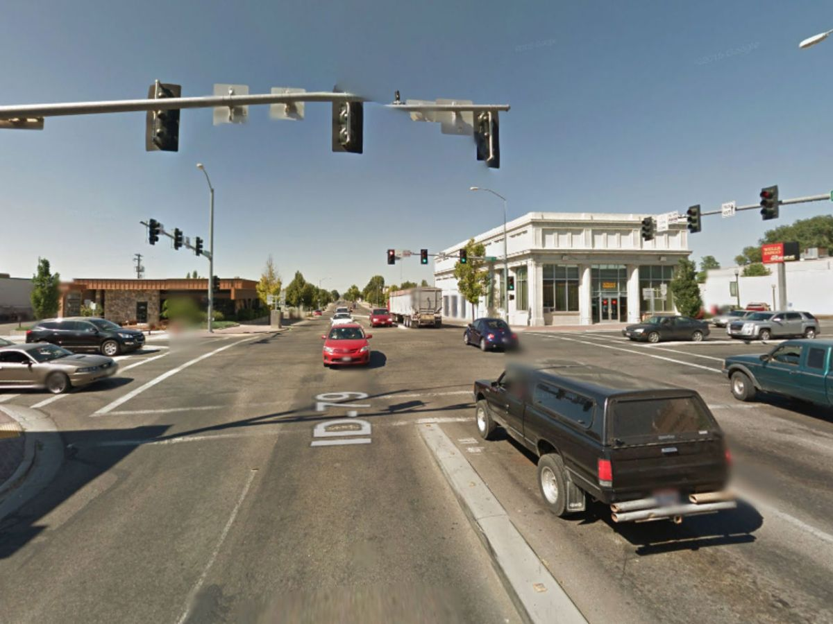 Jerome, Idaho in the United States. Photo: Google Maps