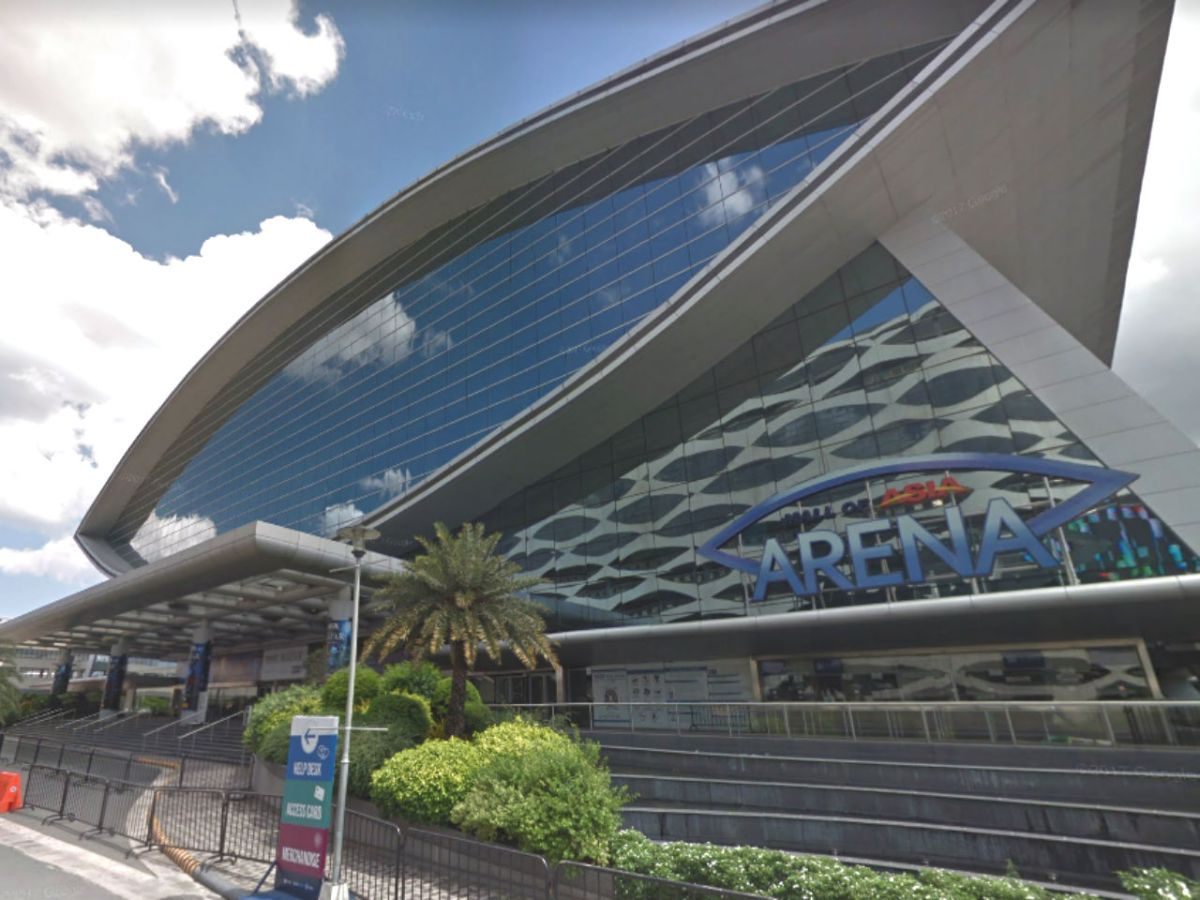 SM Mall of Asia Arena in Manila. Photo: Google Maps