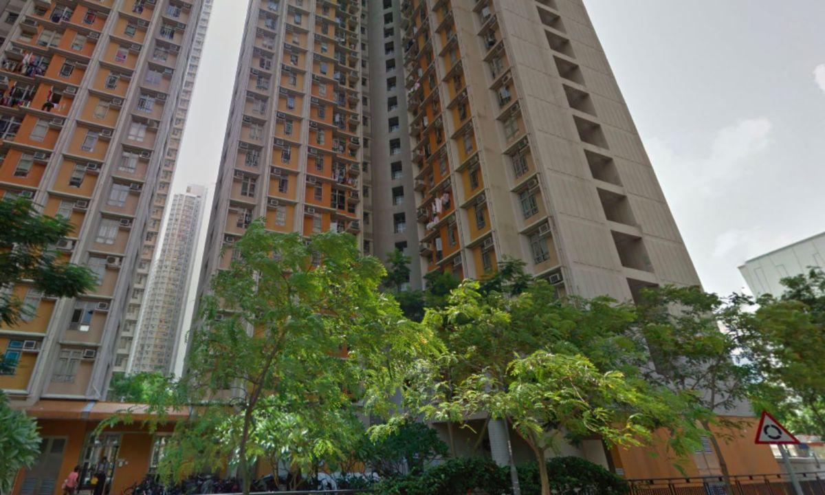 Yu Chui Court in Shatin, in Hong Kong's New Territories. Photo: Google Maps