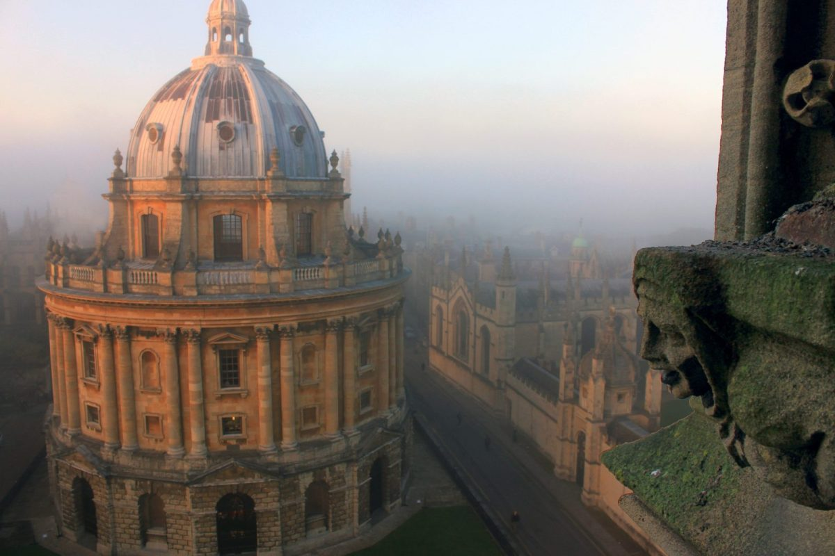 Oxford University's Bodleian Library has 12 million items and roots that stretch back to the 14th Century. The Woolf 'blockchain' library will use an app instead of a campus. Photo: Tejvan Pettinger / Creative Commons