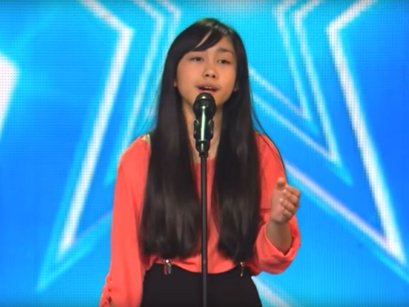 Shaniah Rollo, who impressed the audience and judges on 'Ireland's Got Talent.' Photo: YouTube