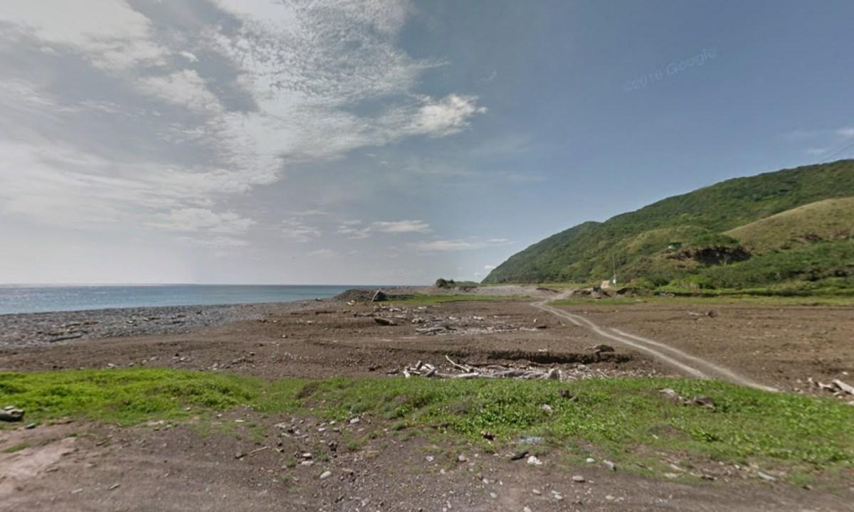 Coast of Taitung county, southeastern Taiwan. Photo: Google Maps