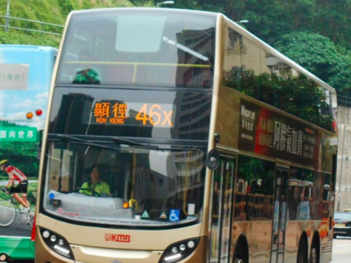A KMB bus. Photo: Wikipedia Commons