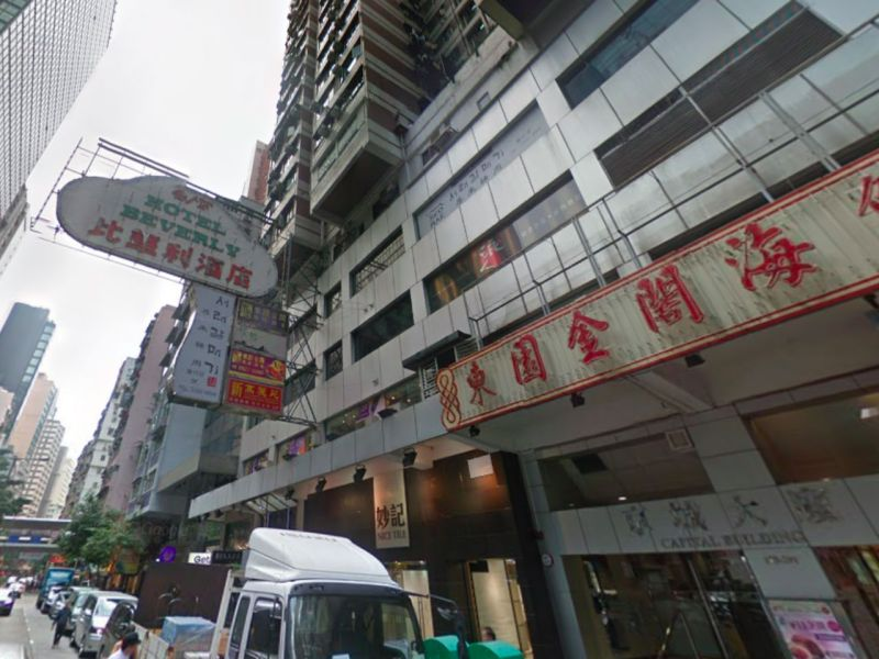 Wan Chai in Hong Kong Island, where the boy was found unconscious. Photo: Google Maps