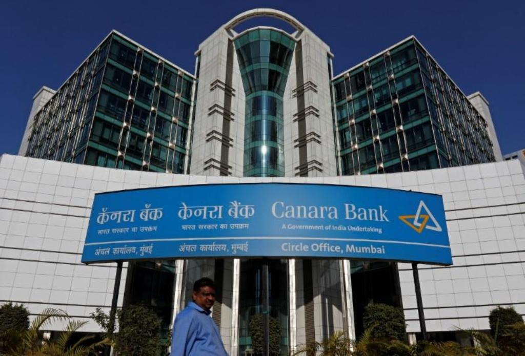 A Canara Bank office in Mumbai. Photo: Reuters