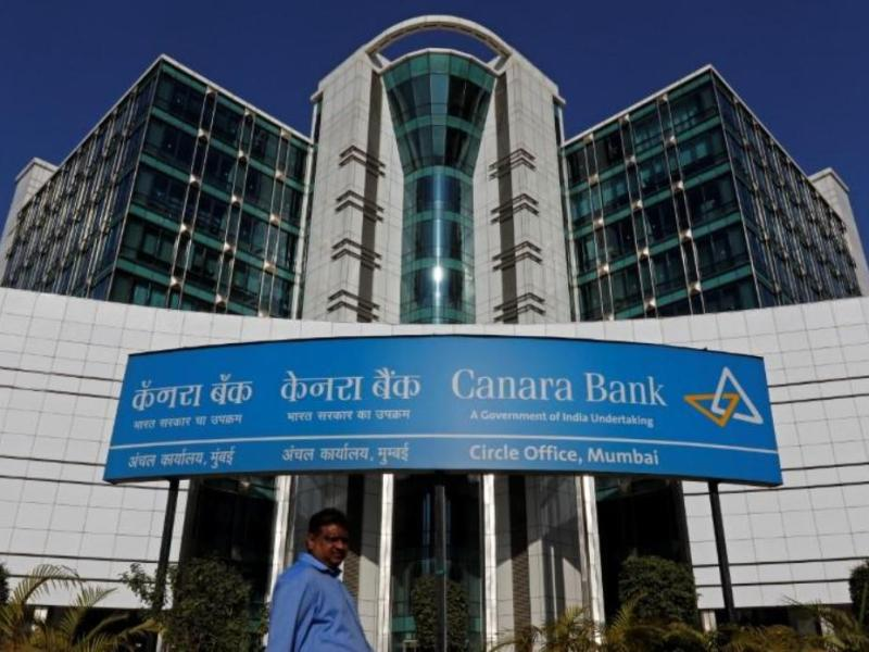 A Canara Bank office in Mumbai. Photo: Reuters