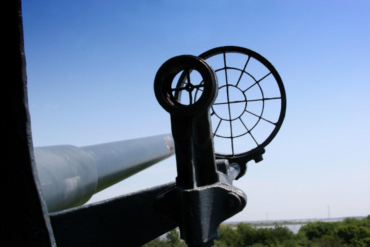 Naval gun sight. Photo: iStock