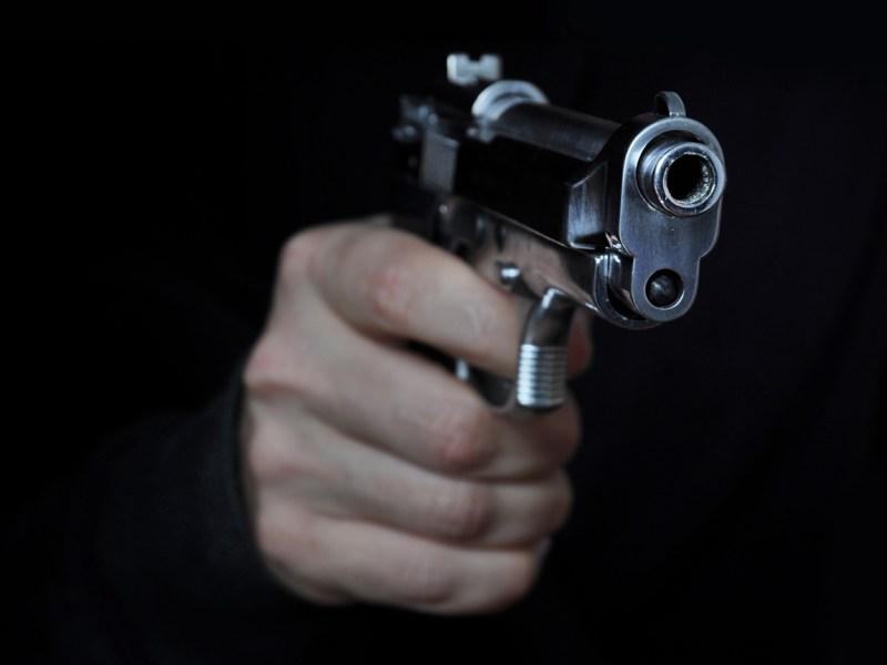Shooting a gun in night. Photo: iStock