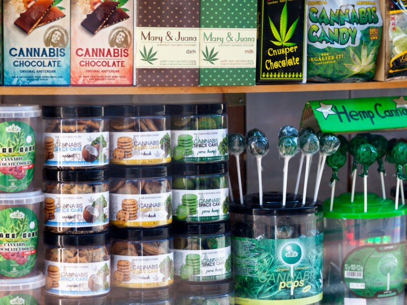 Variety of cannabis related products. Photo: iStock i