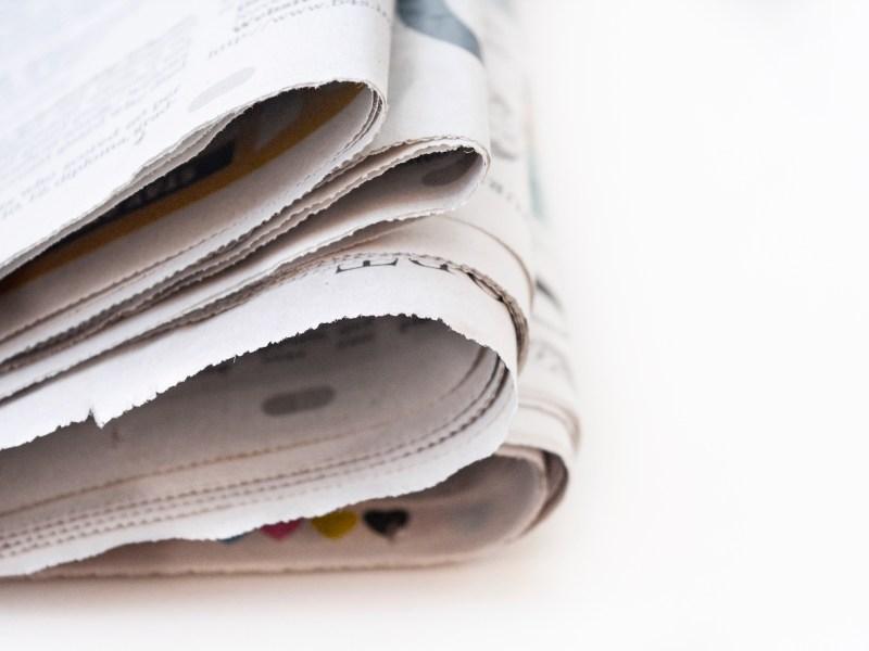 Newspaper sets. Photo: iStock