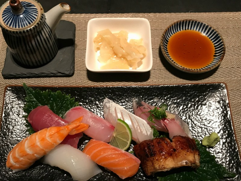 A sushi set at Ichiban. Photo: Jennifer Wong