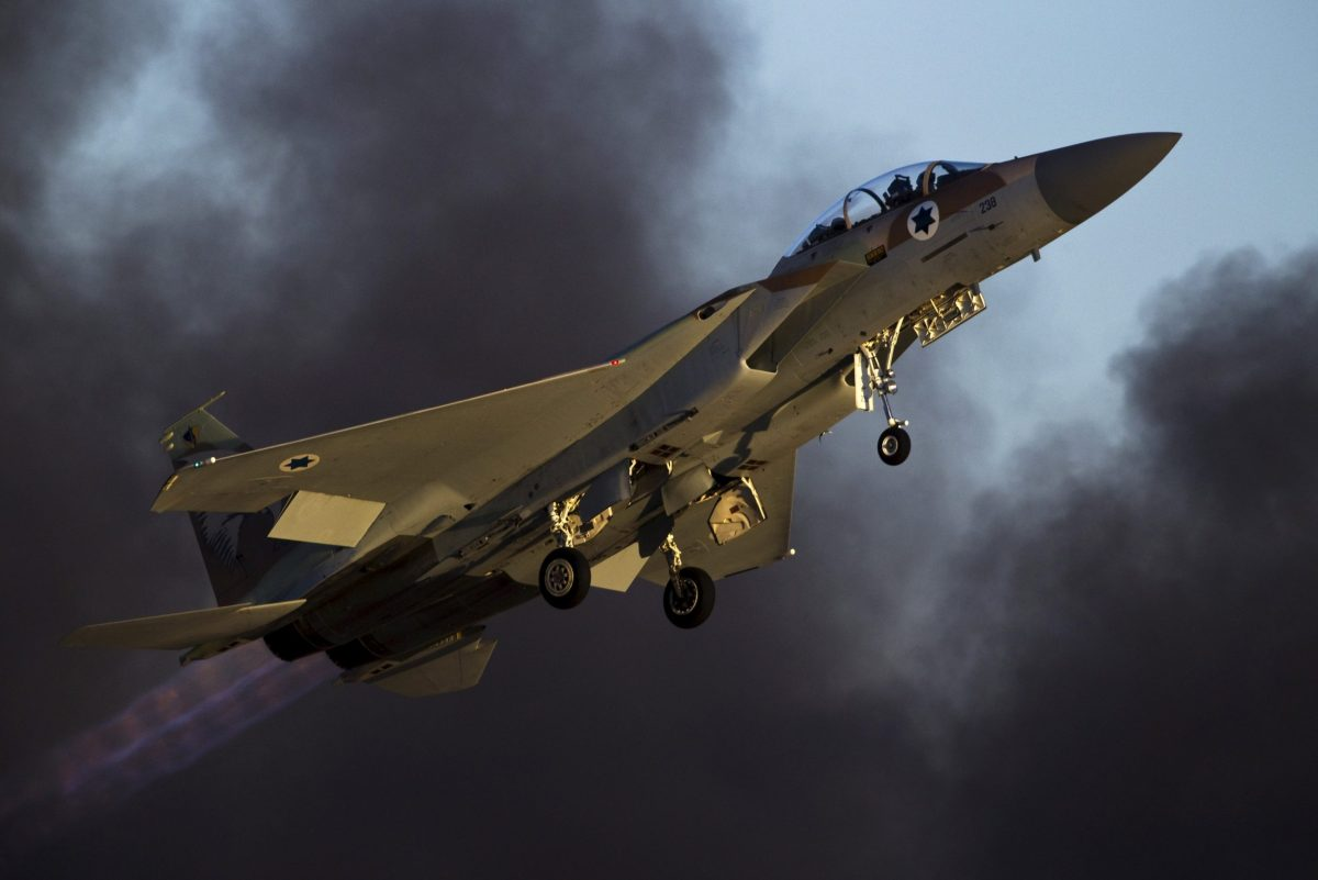 An Israeli air force F-15 fighter jet. Photo: Reuters/Amir Cohen