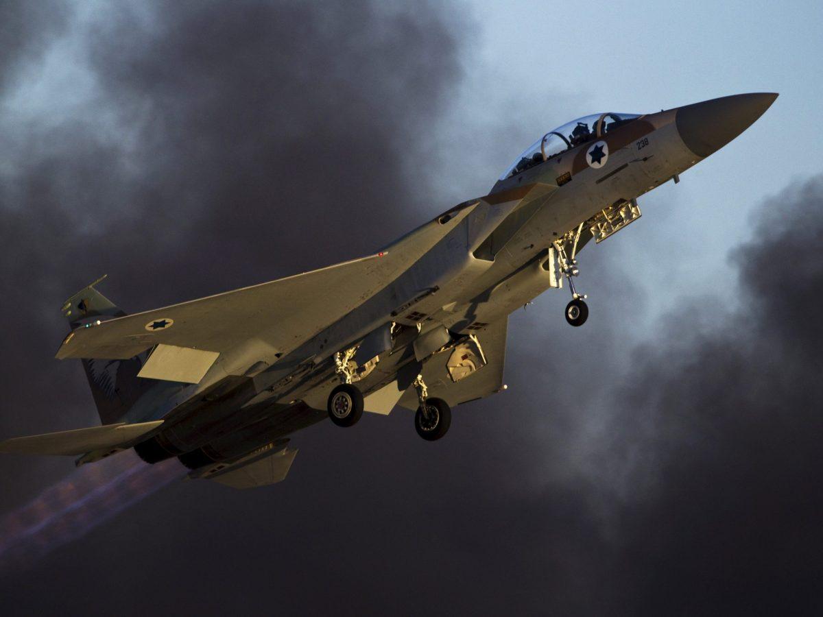 An Israeli air force F-15 fighter jet. Photo: Reuters/Amir Cohen