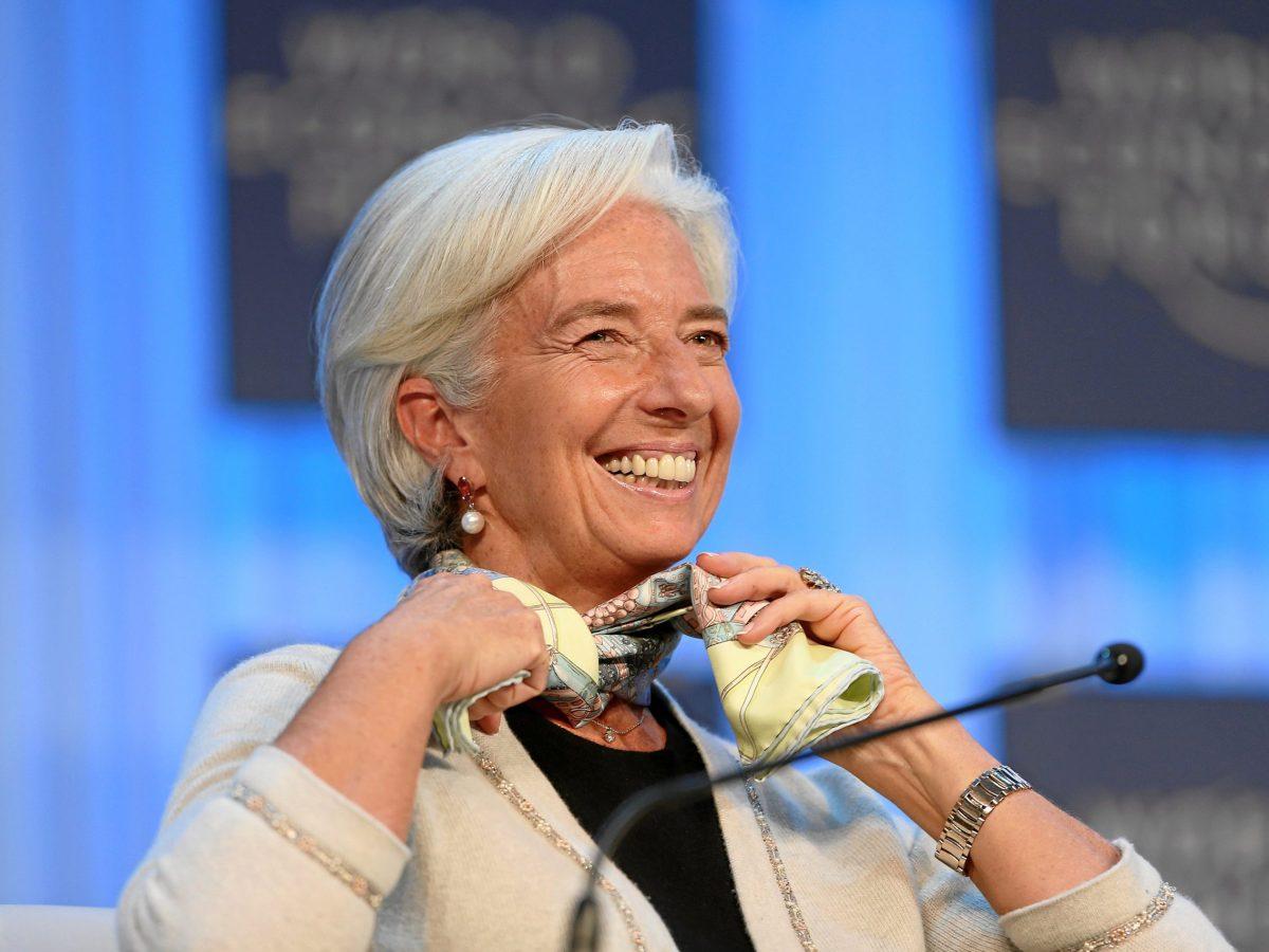 IMF head Christine Lagarde at the World Economic Forum in in Davos in 2013. Photo: World Economic Forum
