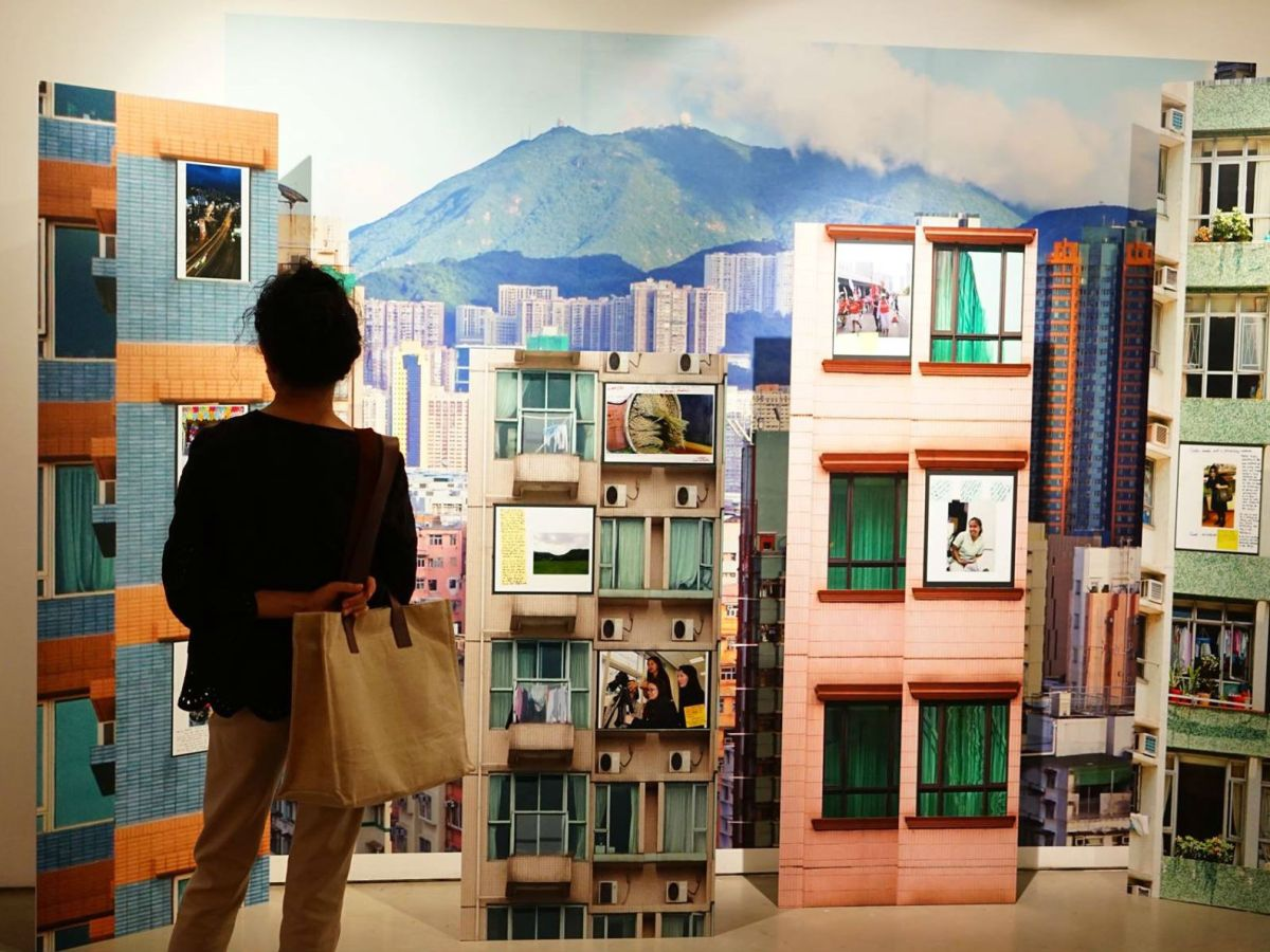 """One of the artworks, """"High Rise"""", displayed at the """"Beyond Myself"""" exhibition. Photo: Curating Development (2017)"""