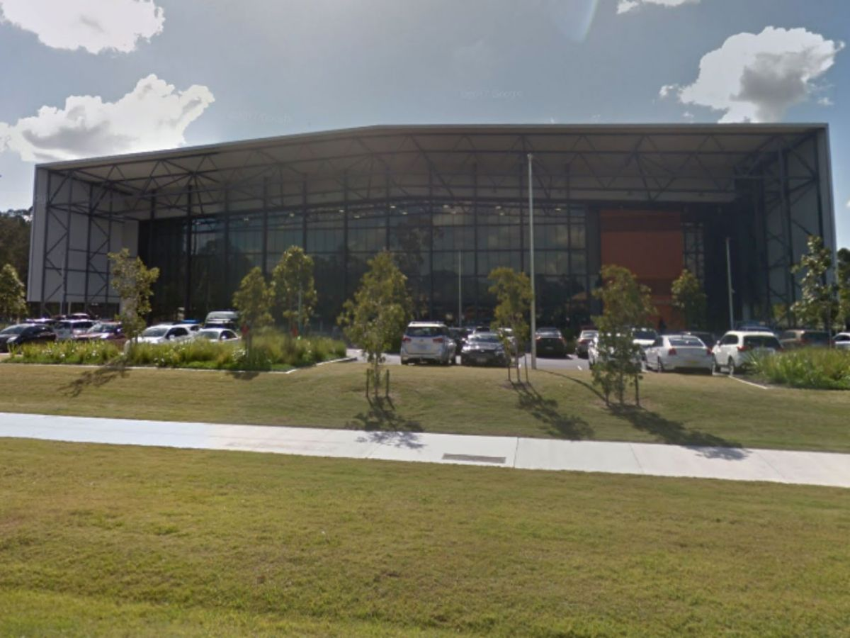 Coomera Indoor Sports Centre, where the Commonwealth Games are being held, on the Gold Coast near Brisbane. Photo: Google Maps