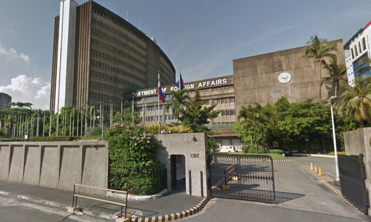 Philippine Department of Foreign Affairs. Photo: Google Maps