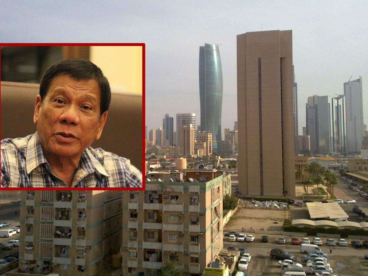 President Rodrigo Duterte urged Filipinos to return home as the deployment ban of workers to Kuwait becomes permanent. Photo: Wikimedia Commons, Presidential Communications Operations Office