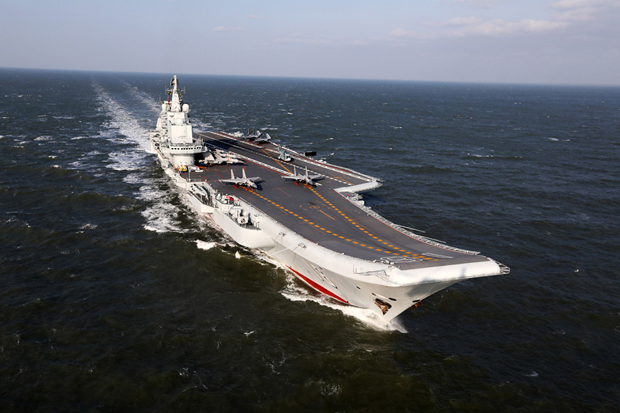 Beijing is becoming more open and honest about its first carrier Liaoning as a new domestically made carrier is undergoing sea trials. Photo: Xinhua