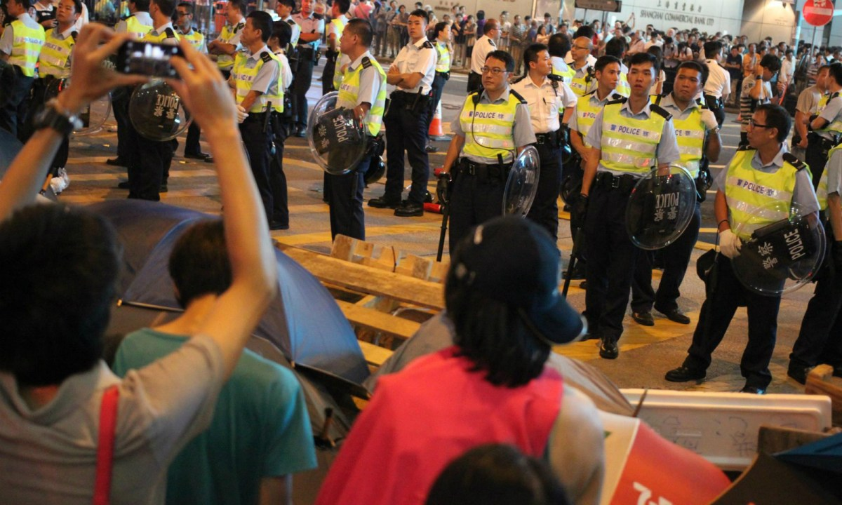 Many Hong Kong young people participated in Umbrella Movement in 2014. Photo: Asia Times