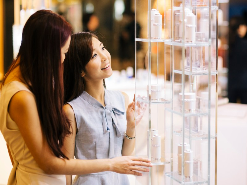 Luxury brands are being propped up by consumer spending in China. Photo: iStock