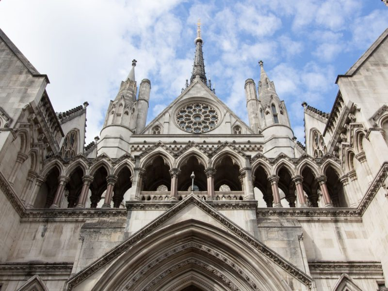 The Royal Courts of Justice in London. Photo: The wub/Wikimedia Commons