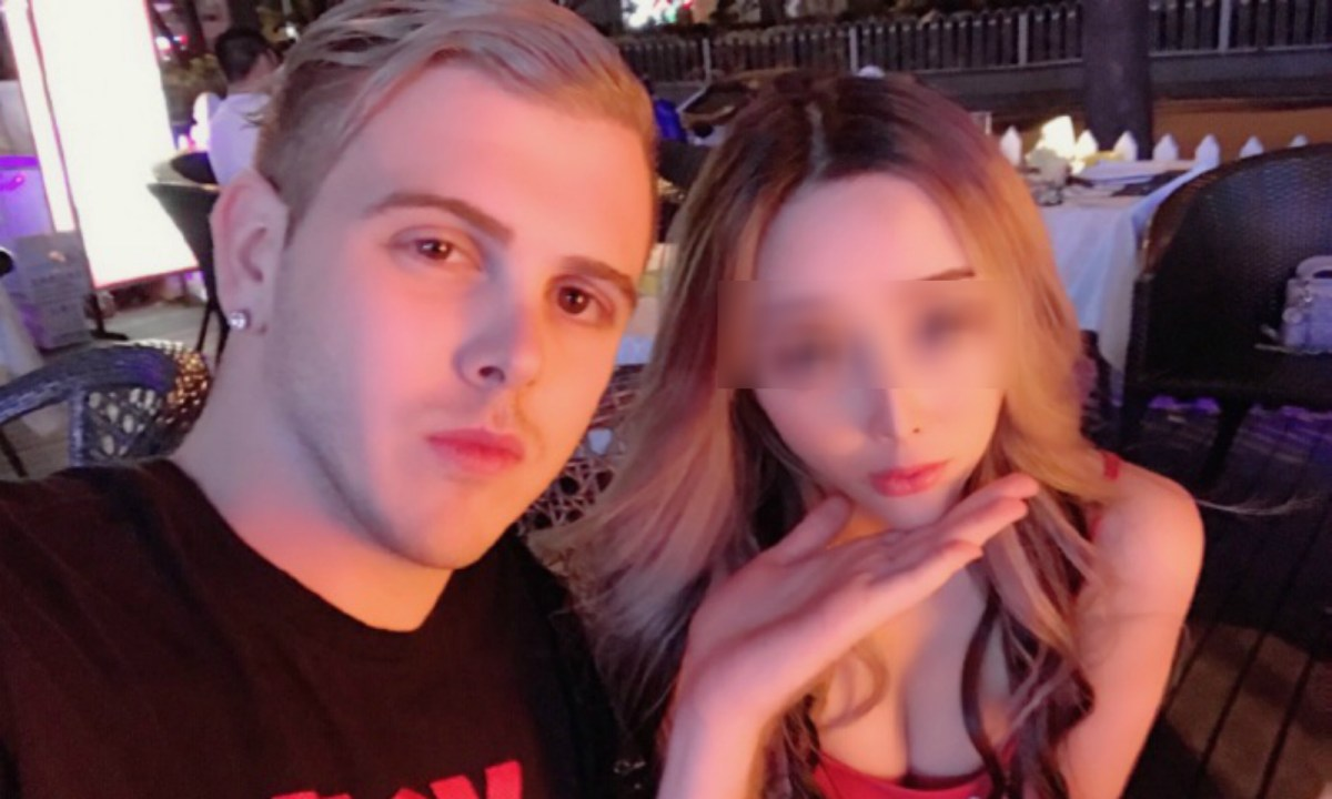 Sami, a Shenzhen-based vlogger, likes to post pictures of himself with different women. Photo: Weibo