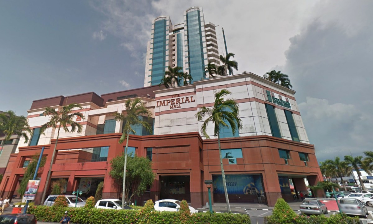Imperial Mall in Miri, Sarawak, Malaysia. Photo: Google Maps