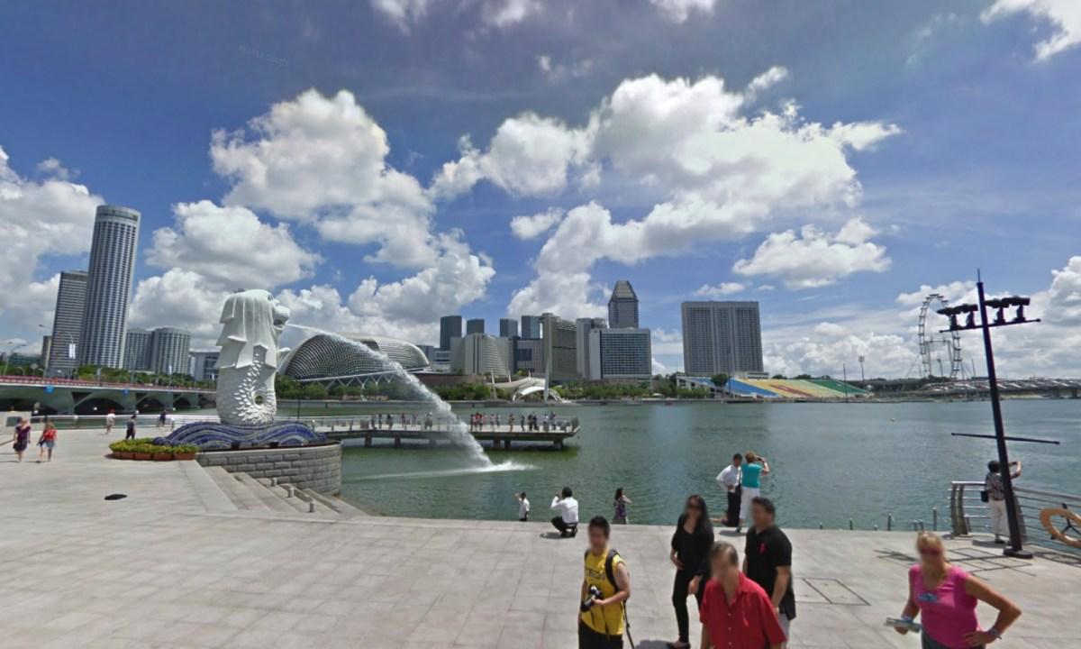 Merlion, Singapore. Photo: Google Maps