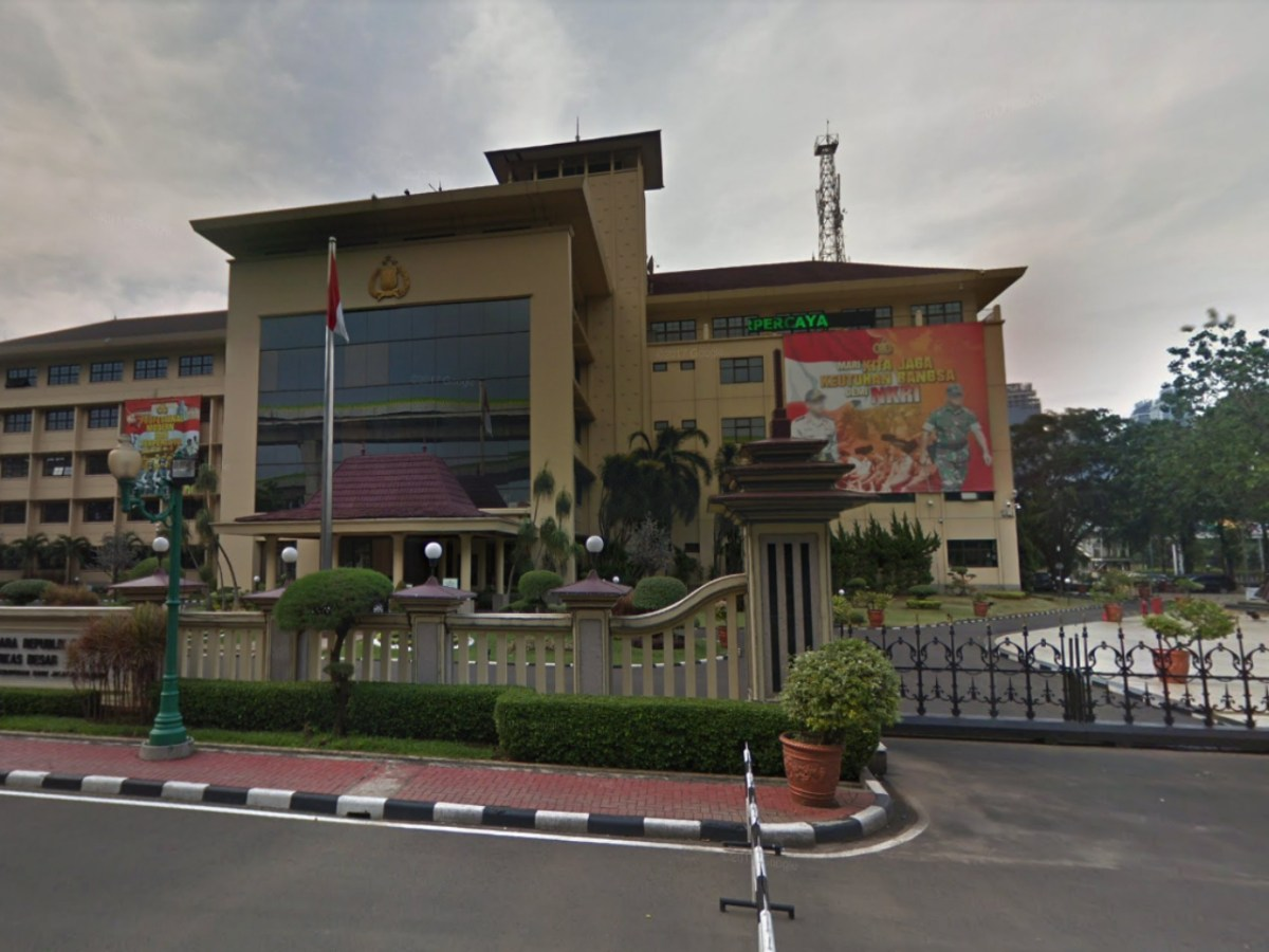 Indonesian National Police headquarters in Jakarta. Photo: Google Maps
