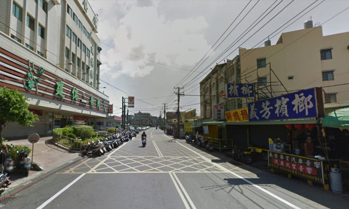 Truong's stall is opposite Chien-Yu Hospital, Kaohsiung City. Photo: Google Maps