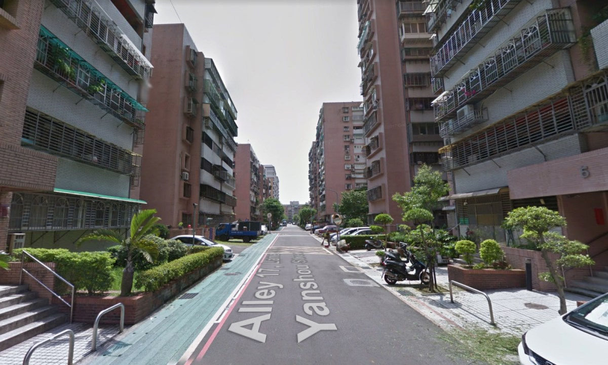 The incident happened in a flat on Sanmin Road in Songshan district of Taipei City. Photo: Google Maps