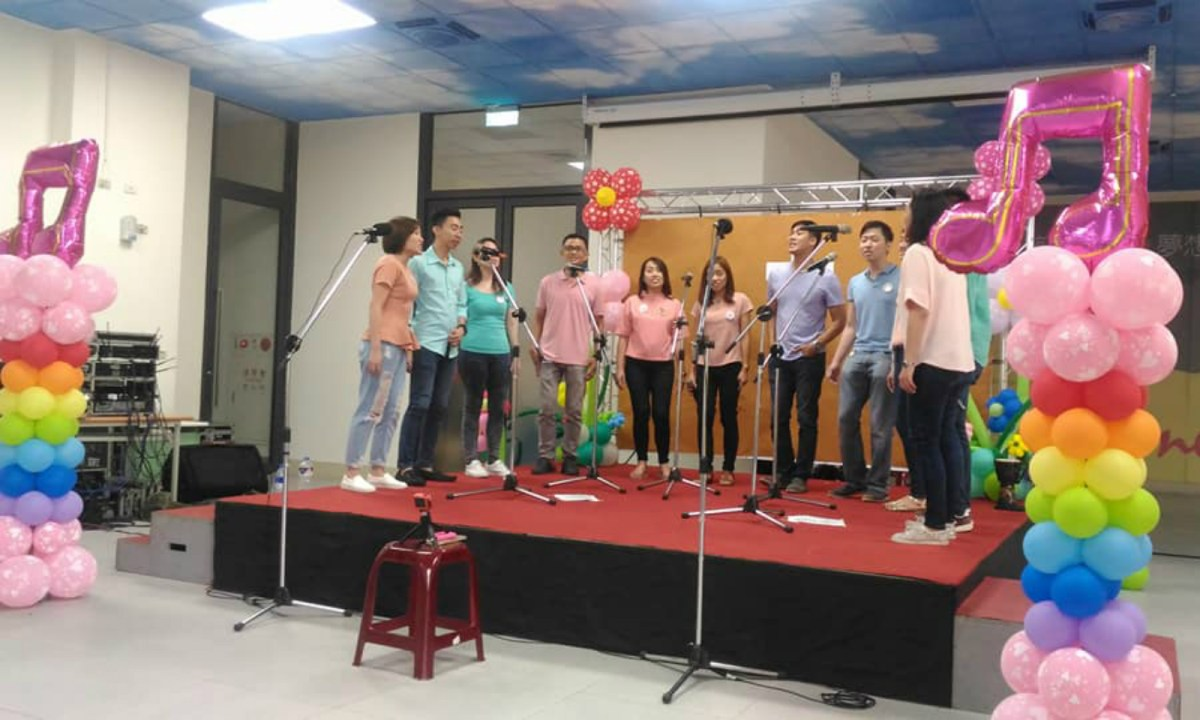 It is the first time for The Covenant Singers to perform in Taiwan. Photo: Facebook/Obet Awa-ao