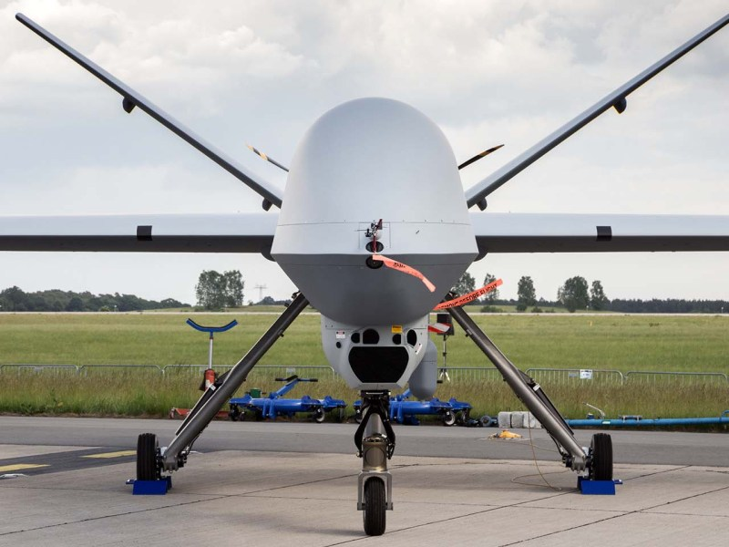 US Air Force MQ-9 Reaper drone. Photo: iStock