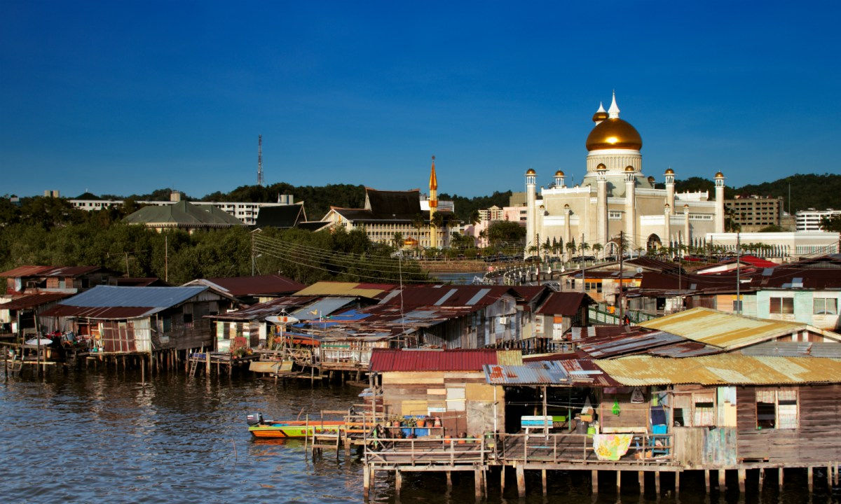 Bandar Seri Begawan in Brunei. Photo: iStock