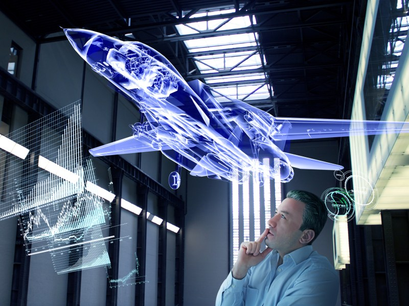 Virtual jet design tests. Photo: iStock